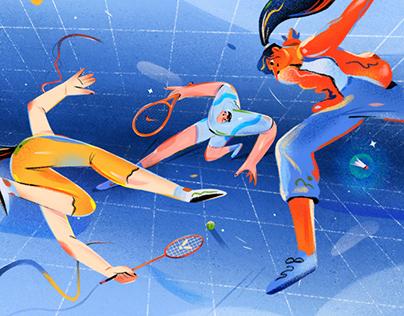 Sports & Art   插畫設計