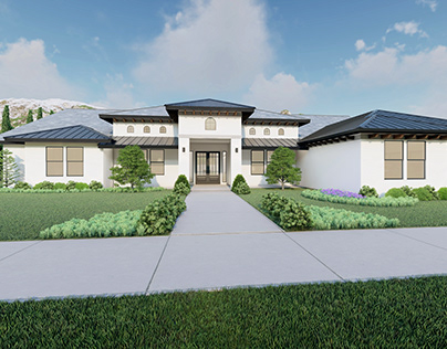 Exterior Residential Home Architectural Animations