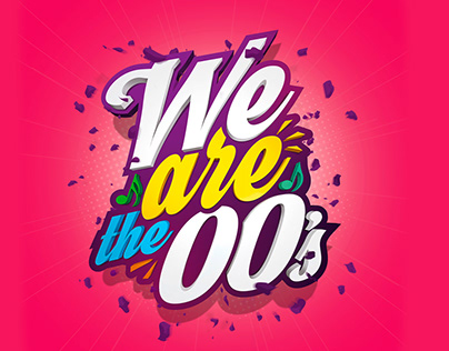 We are the 00's - logotype & artwork