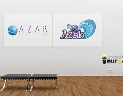 Azak Beach Logo