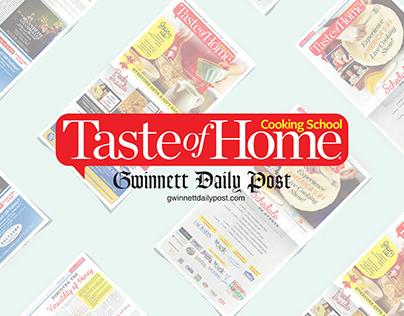 Advertorial Design: Taste of Home Show