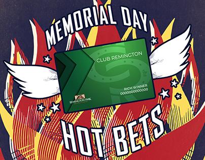 Remington Park 2019 Memorial Day Hot Bets Promo