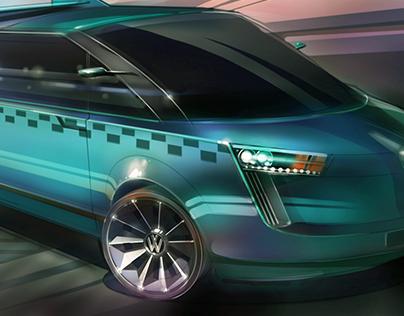 Проект общественного Такси VW breeze