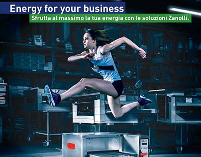 Campagna pubblicitaria Zanolli forni e macchine