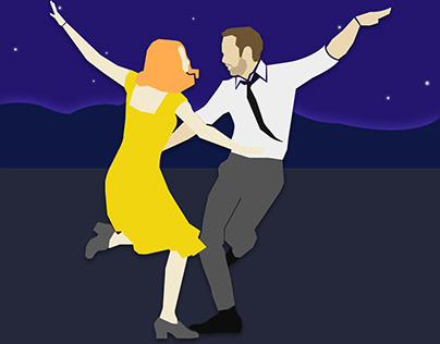 La La Land - Illustration