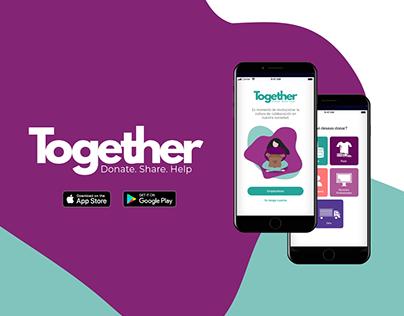 Together App - Proyecto UX/UI (2020)