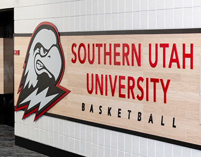 SUU Basketball Display