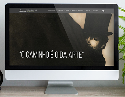 Web design - Wesley Duke Lee Art Institute