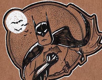 Batman Inktober