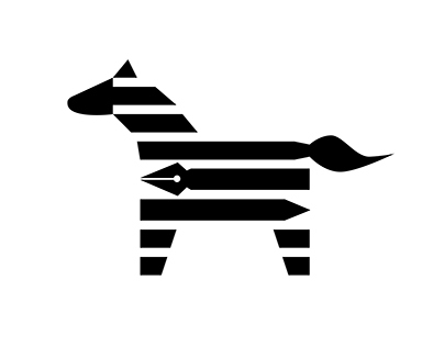 Zebra Drawing Studio Logo