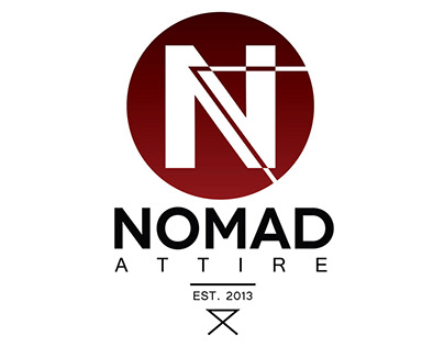 Logo Development and Apparel Branding for Nomad Attire