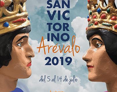 Cartel Fiestas Arévalo 2019