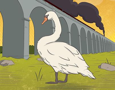 Mucky Duck Illustration