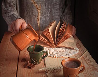 Mugs photo shoot for peace of art