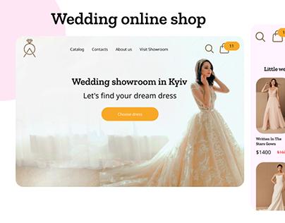 Wedding online shop