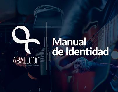 "Manual de Identidad ""Aballoon"""