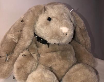 Metal bunny bag
