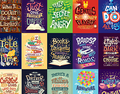 Complete Hand Lettering Collection