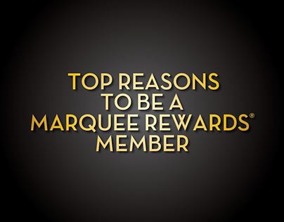 Marquee Rewards Top Reason Brochure