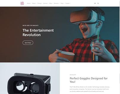 Home Device Page - IT WordPress Theme