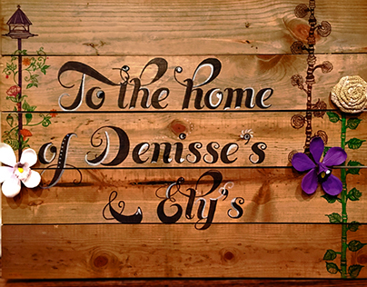 To the Home of Denisse's & Ely's