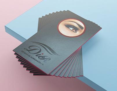 Cartão de Visitas Dior