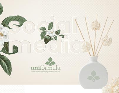 Redes Sociais - Farmácia Unifórmula Online