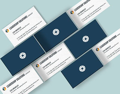 Leadership Solutions Group Brand Identity System