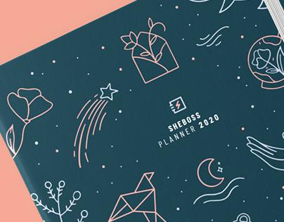 SheBoss Planner 2020 ~ Illustration & Lettering