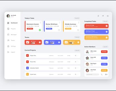 Dashboard - Free UI Kit