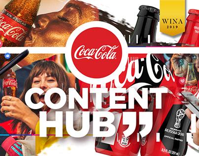 Content Hub - Coca-Cola Russia 2018