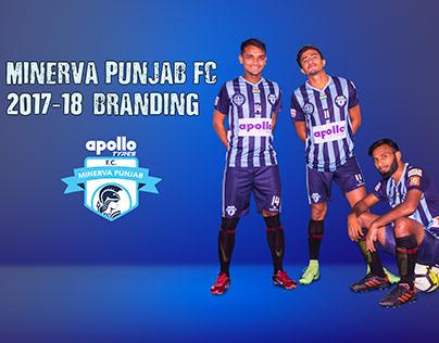 Minerva Punjab FC Social Media Branding 2017-18