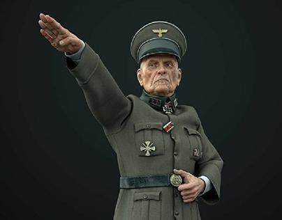 Nazi Soldier (Art War2 Contest)