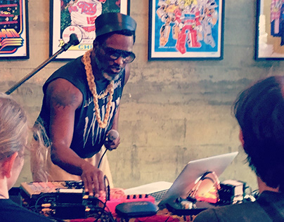 Shabazz Palaces in Fall 2010+Summer 2017