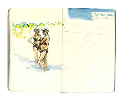 Puglia Sketchbook