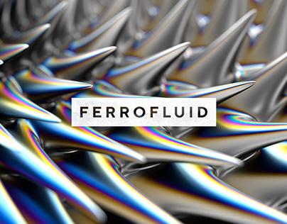 Ferrofluid Abstract Textures