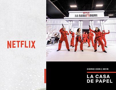 Netflix | CCXP18 | La Casa del Papel