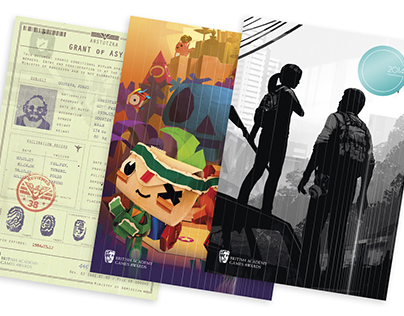 BAFTA Games Awards 2014 Visual Identity