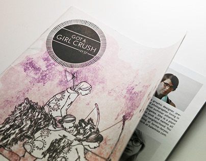 Editorial Design | GOT A GIRL CRUSH MAGAZINE