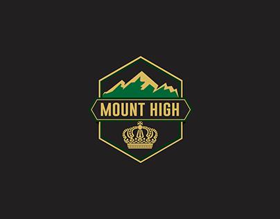 Mount High Branding design