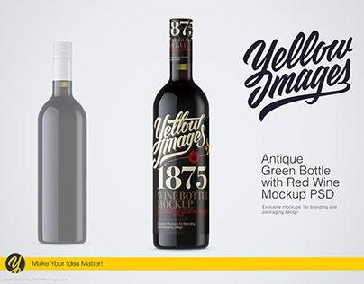 TOP 10 Popular bottle MOCKUPS