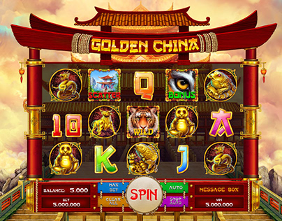 "Online slot machine – ""Golden China"""