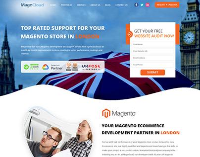 Landing Page Design - Magecloud