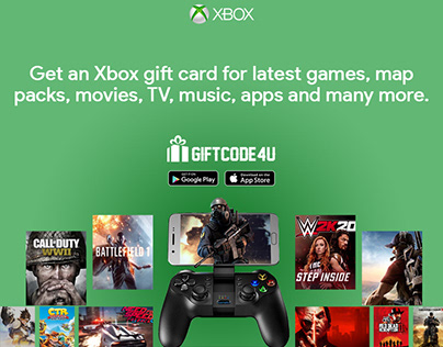Buy an Xbox Gift Card Online - The Best Gift for Gamers