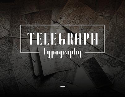TELEGRAPH : typography