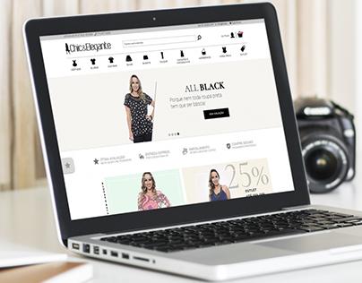 Chic e Elegante - Interface de E-commerce