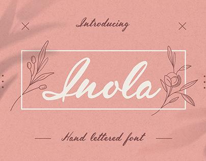 Inola Handlettered Font