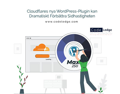 Cloudflares nya WordPress-Plugin kan Dramatiskt