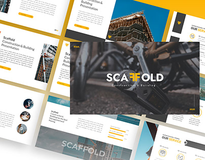 Scaffold – Construction & Building Powerpoint Template