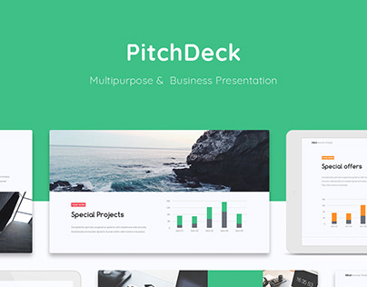 Cella - PitchDeck & Business Template